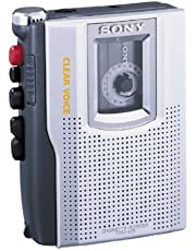 Sony Products - Sony - TCM-150 Standard Cassette Recorder w/Clear Voice Sound System - Sold As 1 Each - Cue & Review-Plus Clear VoiceTM recording. - Weight-6 oz. - Batteries Required-2 AA (25 hours record time). - Includes quick record/quick review, built-in speaker/microphone, earphone/headphone jack. - batteries not included.
