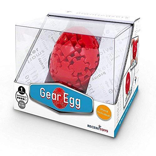 Project Genius MK1101 Uwe Meffert's: Gear Egg Brain Teaser Puzzle, Assorted ()