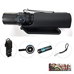 The flashlight Olight M2R is an brand new rechargeable dual switch LED tactical flashlight. This flashlight is equipped with the latest XHP35 HD LED powered by a single high discharge rate 18650 with an output range of 1 to 1,500 lumens. The ...