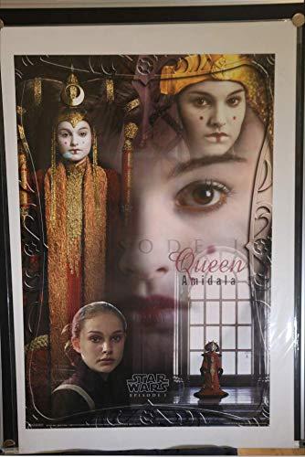 Star Wars Queen Padmé Amidala Natalie Portman Rolled Original Licensed Single Sided 24x36 Movie Poster 1999]()