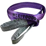Duplex Webbing Lifting Sling 1 Tonne (1 Metre) - Lifting Sling, Tow Strap, Cargo Sling, Rated Strap
