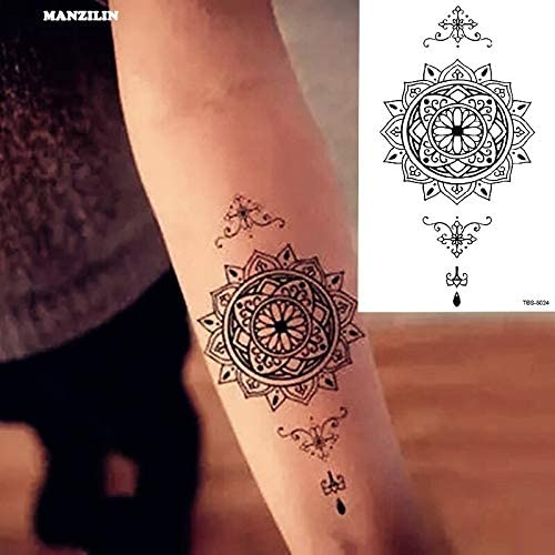 tzxdbh Impermeable Tatuaje Temporal para Hombres Tatuaje Tatoo ...