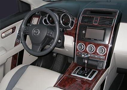 amazon com mazda cx9 cx 9 cx 9 interior burl wood dash trim kit set