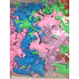 ~ 1 Gross (144) ~ Jumping Frogs ~ 2 in Plastic ~ New ~ Party Favors