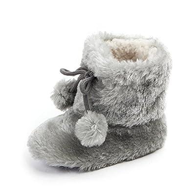 Baby Premium Soft Sole Anti-Slip Warm Winter Infant Prewalker Toddler Snow Boots