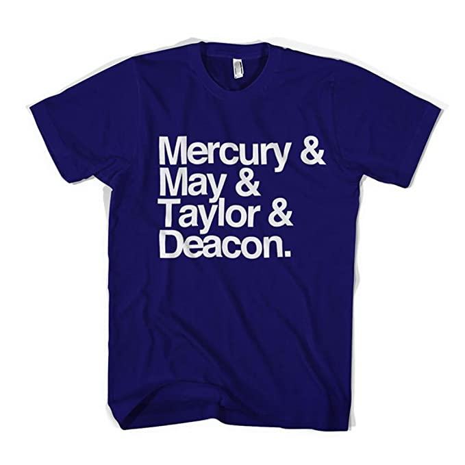 901c0d22b10 Old Skool Hooligans Mercury May Taylor   Deacon Names T Shirt (Small) Blue  Lady