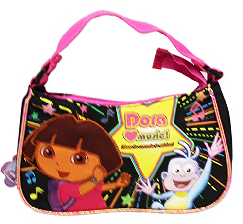 - Dora the Explorer Dora Loves Music Small Kids Clutch Handbag