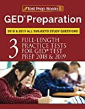 GED Preparation 2018 & 2019 All Subjects Study