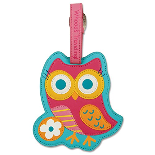Teal Owl Luggage Tag by Stephen Joseph - SJ5501-76A
