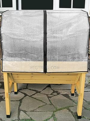 Compact VegTrug8482; Frame and Greenhouse Cover by VEGTRUG LIMITED