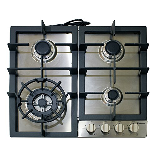 Magic Chef MCSCTG24S Cooktop Stainless