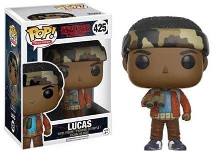 Funko - Pop! Vinilo Colección Stranger Things - Figura Lucas (13324)