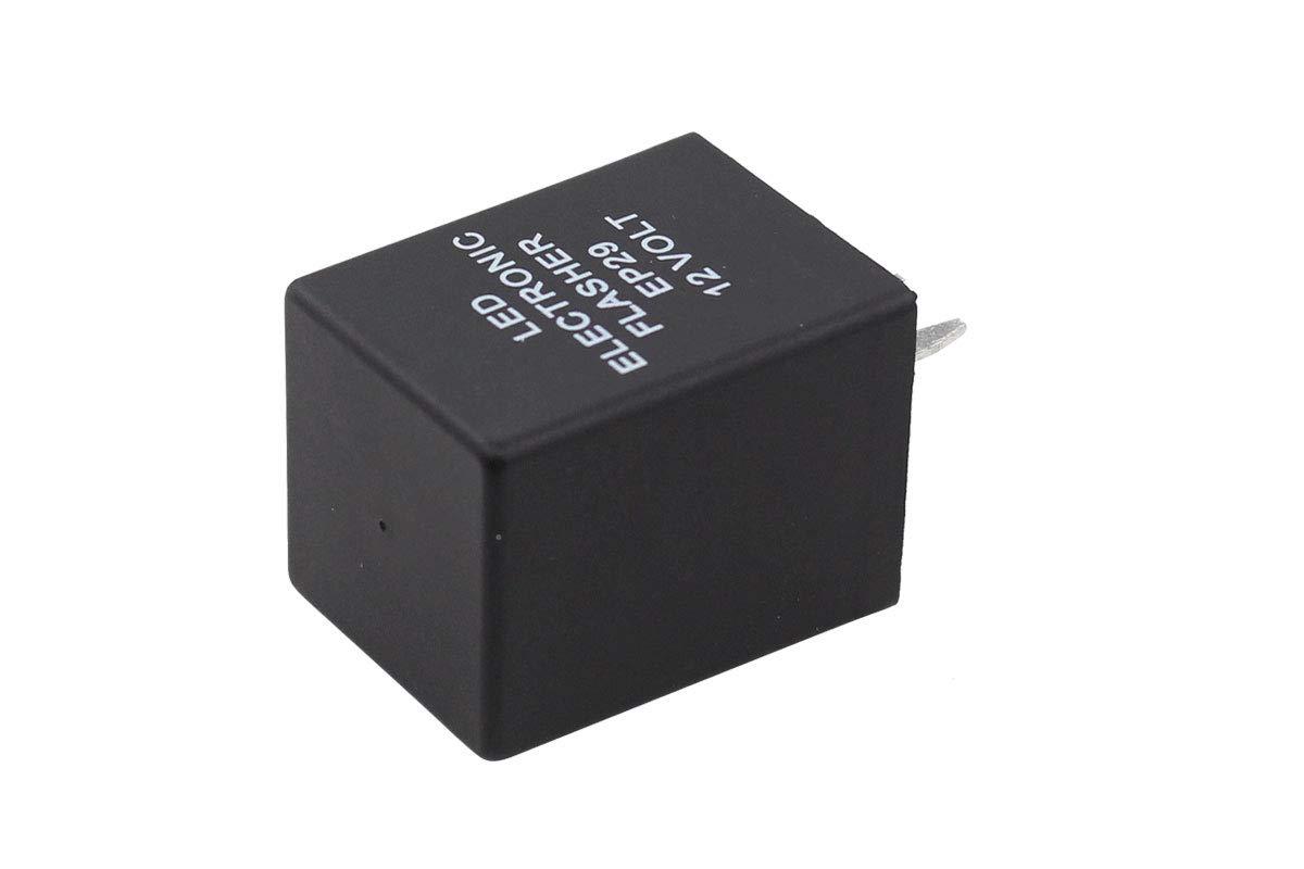 LED Electronic Flasher EP29 EP29N 12 Volt 4Pin Relay Turn Signal Bulbs Hyper Flash