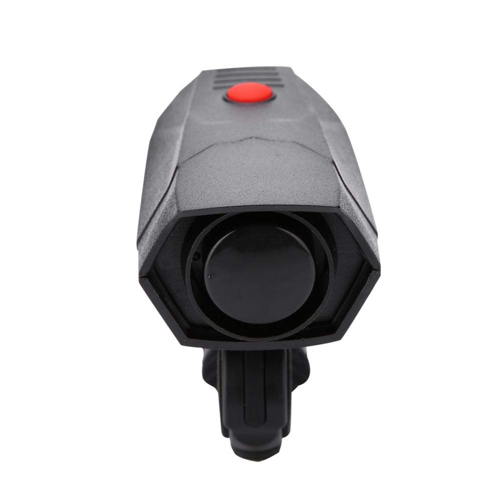 VGEBY Bike Horn, Electronic Bicycle Handlebar Ring Alarm Warning Bell with Support and Screwdriver