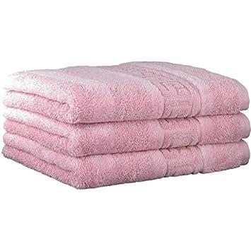 Cawö - Noblesse 1001 L Juego de toallas 3 piezas 50 x 100 cm L cenefa L 297 Magnolia: Amazon.es: Hogar