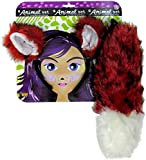 Forum Novelties Women's Fox Ears and Tail Set, Multi, One Size