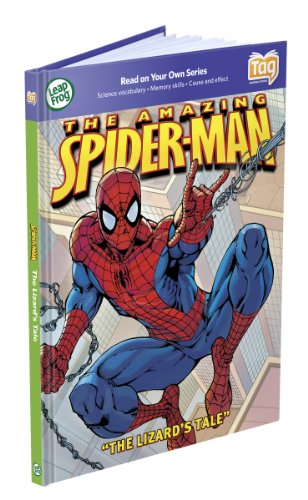 LeapFrog Tag Activity Storybook The Amazing Spider-Man: The Lizard's - Book Tag Activity