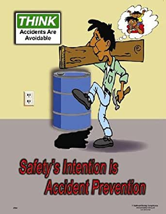 National Safety Compliance Accident Prevention Laminated