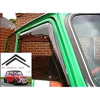 2x Deflectores de Aire Compatible con Austin Mini