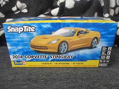 #1982 Revell Snap-Tite 2014 Corvette Stingray 1/25 Scale Plastic Model Kit, Needs Assembly
