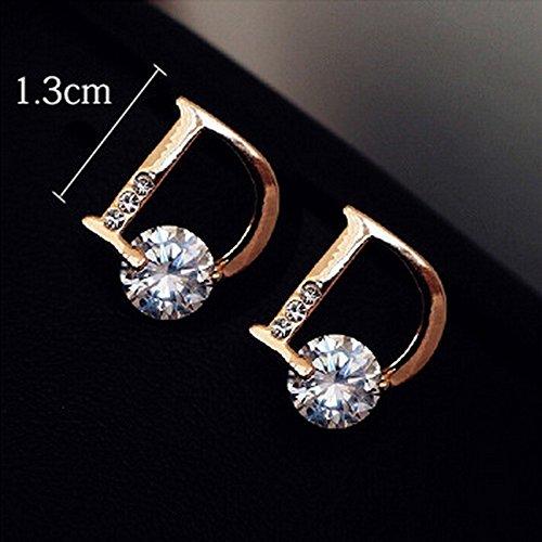 High-Season 2016 bijoux women boucle d'oreille Cyrstals Queen D Earrings Cheap Fashion Fine Jewelry Wholesale (Ugg Boots Rhinestone)