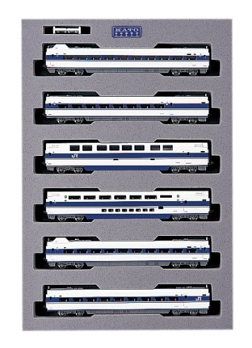 Kato 10-355 100 Grand Hikari Shinkansen 6 Car Add-On Set