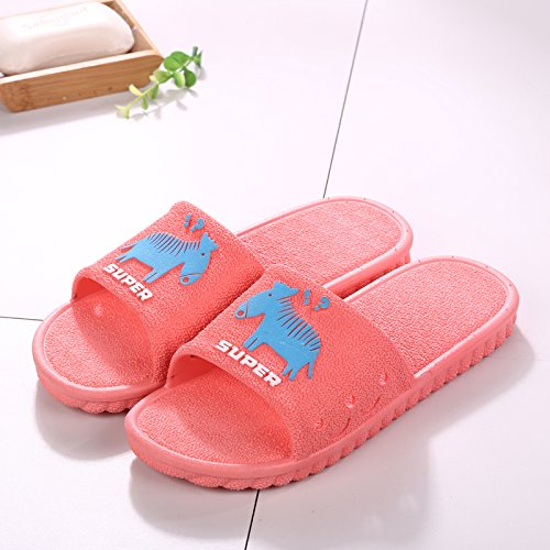 Tide Red Interior Bathroom Slippers Bath The Outside fankou Sandals Cool 37 Summer Men Anti 38 Thick Slip Home T7xTItUqw