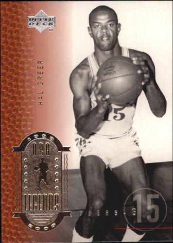 2000 Upper Deck Century Legends Basketball Card (2000-01) #11 Hal Greer Near Mint/Mint