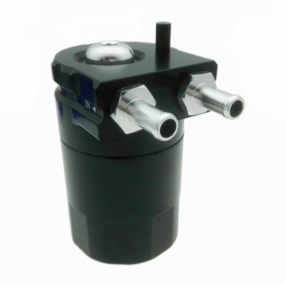 heinmo 5 Farbe Universal Aluminium Zylinder Auto /Öl Catch k/önnen Reservoir Tank