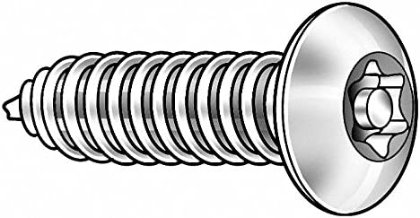 Package of 50 #0-42 x 1//4 in Zinc-Plated Case Hardened Steel Sheet Metal Screw with Pan Head Type Pack of 5