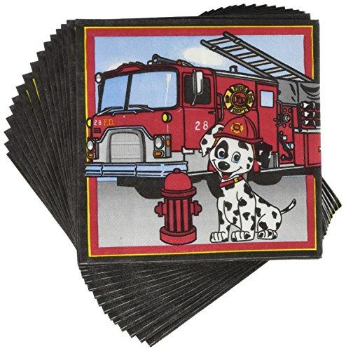 Forum Novelties Firefighter Luncheon Napkins (16 Pack)