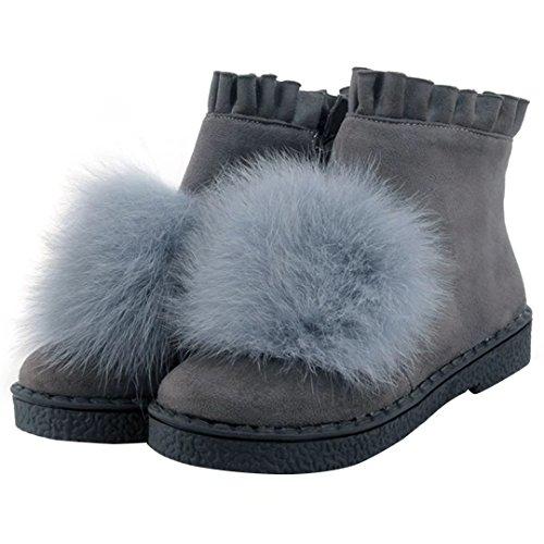 AIYOUMEI Grey Grey Classic AIYOUMEI Boot Boot Grey Boot AIYOUMEI Women's Classic Classic Women's Women's naUAwYq