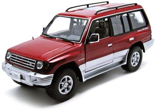 1/18 1998年 三菱パジェロ ロング3.5V6 レッド 1224