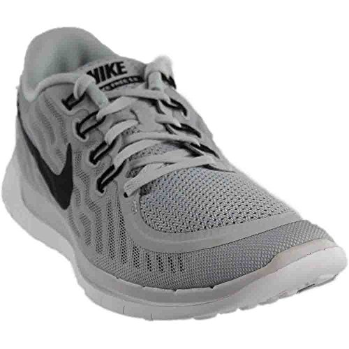 f74ac18357f4 Nike Men s Free 5.0 Running Shoe Pure Platinum Wolf Grey Cool Grey Black  Size 10 M US - Buy Online in Oman.