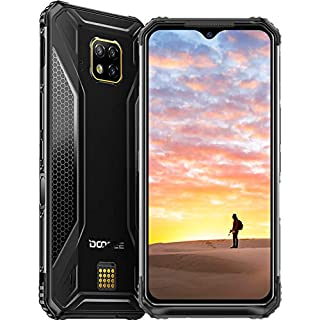 DOOGEE S95 PRO 8+256GB 2020 Rugged Smartphone Unlocked 4G, Helio P90 Cell Phone Outdoor, Dual SIM Free Android 9.0 IP68 Waterproof, 48+8+8+16MP AI Cameras, 6.3 inch, 5150mAh, GPS/NFC/Wireless Charge
