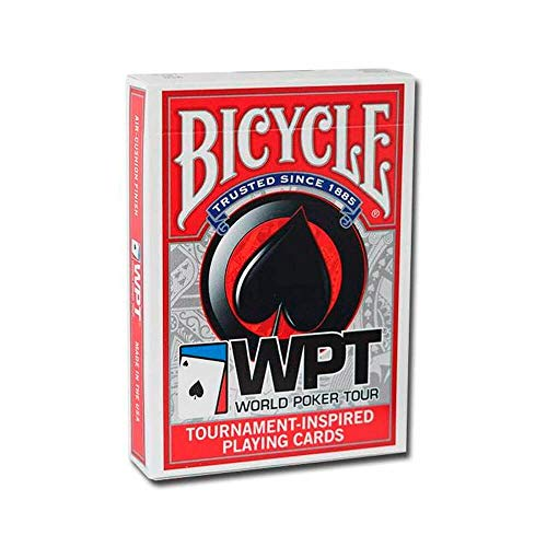 Baralho Bicycle WPT Red