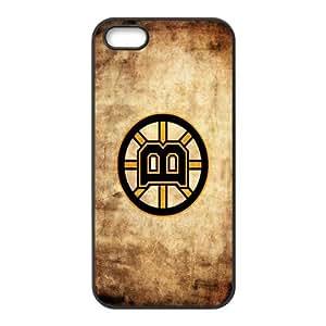 Custom Boston Bruins NHL Back Cover Case for iphone 5,5S JN5S-1155
