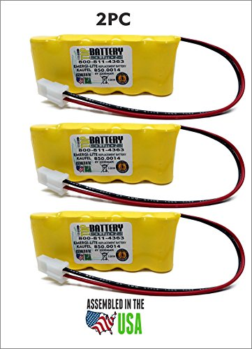 3PC 850.0014 Emergi-Lite/Kaufel by TOP BATTERY SOLUTIONS (Image #4)