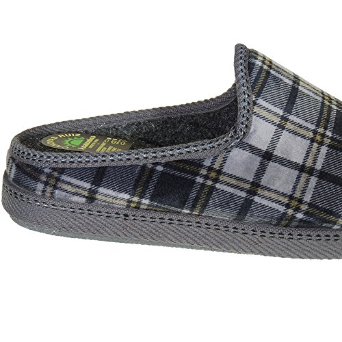 CANOVAS RUIZ - Zapatillas Destalonada De Estar Por Casa - Modelo 18-714 GRIS