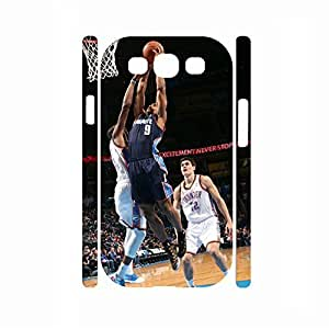 Deluxe Famous People Series Basketball Player Skin for Samsung Galaxy S3 I9300 Case