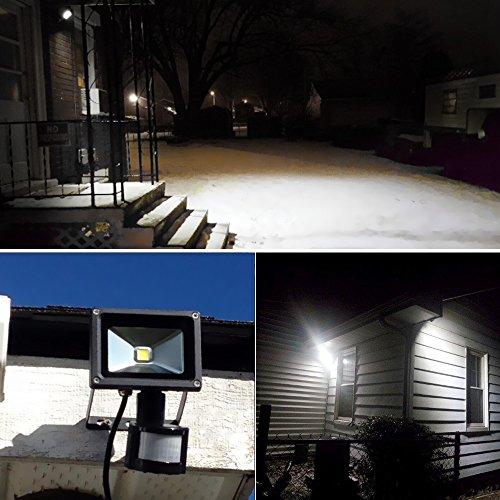 LE 10W Super Bright Motion Sensor Flood Light Outdoor LED