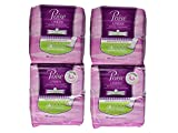 Poise Liners for Light Bladder Leakage, Long Length, Very Light Absorbency, 44 Count (Pack of 4)