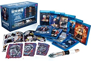 Cover Image for 'Doctor Who: Series 1-7 Limited Edition Blu-ray Giftset'