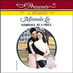 Marriage at a Price   Miranda Lee