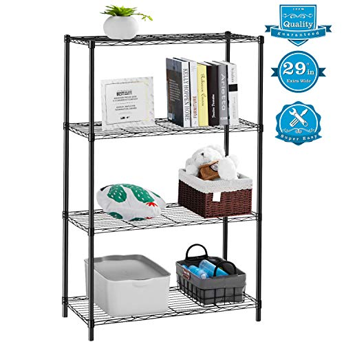AOOU Shelf 4-Tier Shelving Unit, 29