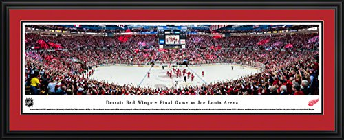 Detroit Red Wings - Final Game at The Joe - Double Mat, Delu