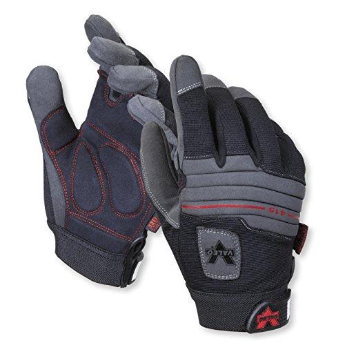 Valeo Industrial V415 Mechanics Anti-Vibe Gloves with Padded Back, VI4867, Pair, Black, Medium by Valeo (Image #2)