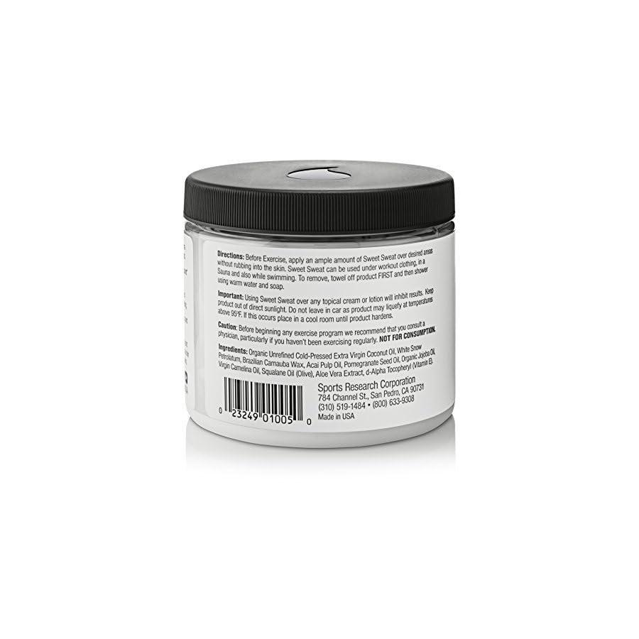 Sweet Sweat 'Workout Enhancing' Gel Coconut 'XL' Jar (13.5oz)