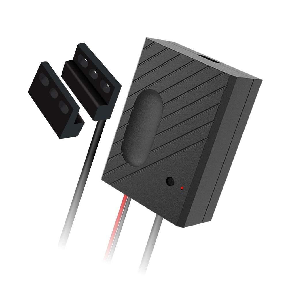 OWSOO WiFi Smart Switch Garage Door Controller Compatible Garage Door Opener Smart Phone Remote Control Timing Function Voice Control Compatible with Alexa and Google Home IFTTT