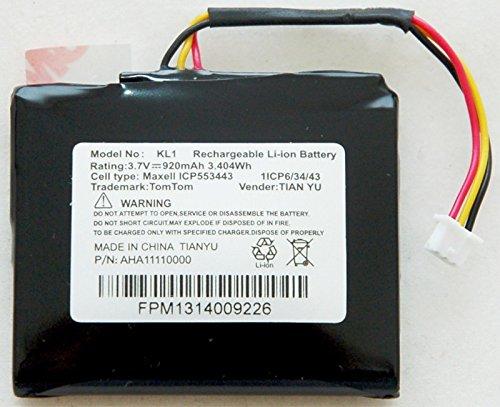 Official OEM TomTom 920mAh GPS Battery VIA 1505TM 1535TM 1505M 1535M 1505 1535 T